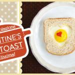 Valentine's Egg Toast