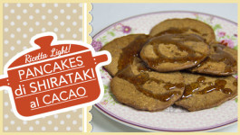 PANCAKES DI SHIRATAKI AL CACAO SUPER LIGHT