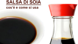 SALSA DI SOIA cos'è e come si usa
