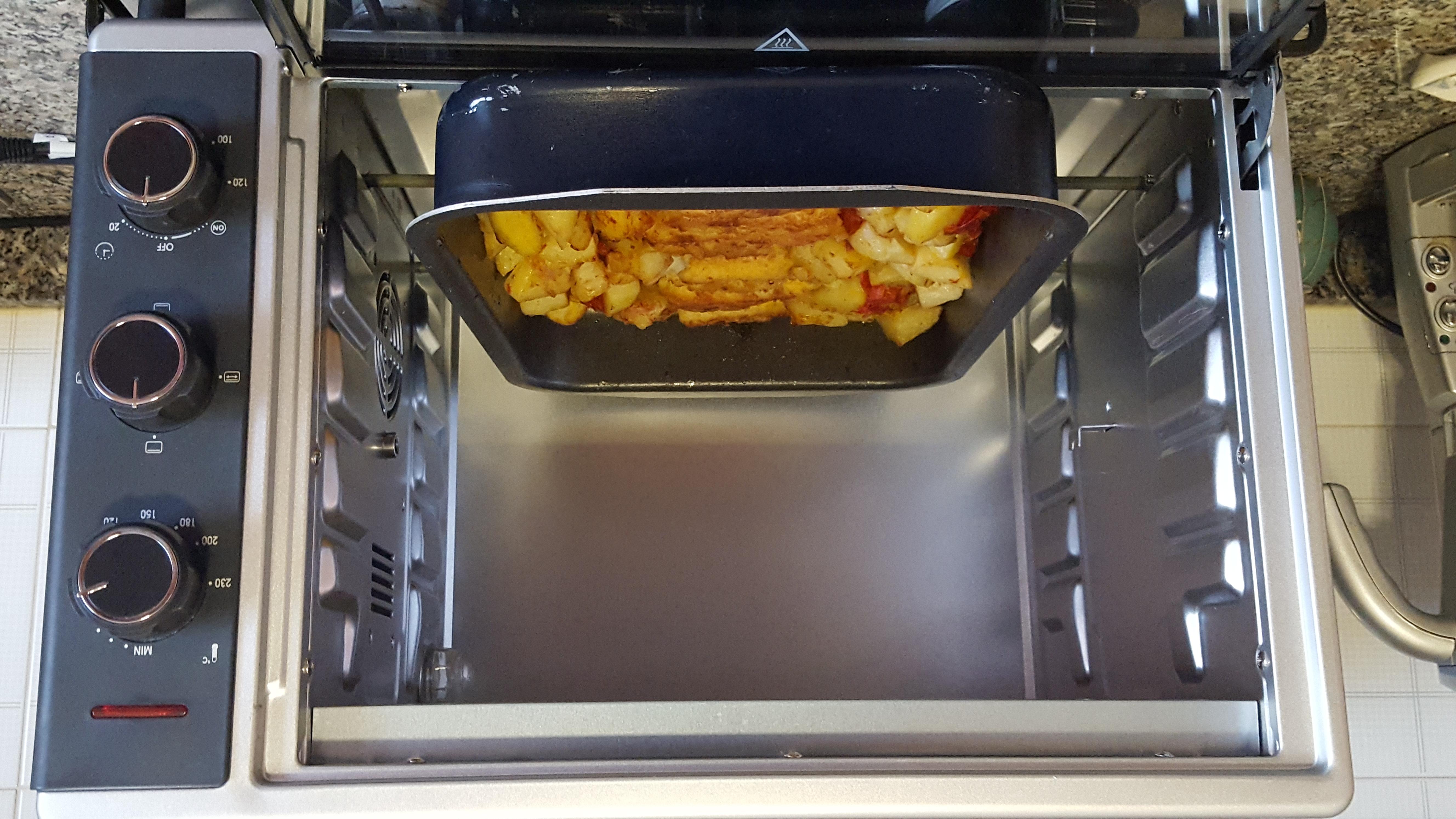 Forno elettrico provato per voi loveseverin - Pietra per forno elettrico ...