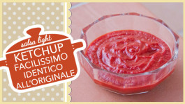 KETCHUP facilissimo identico all'originale