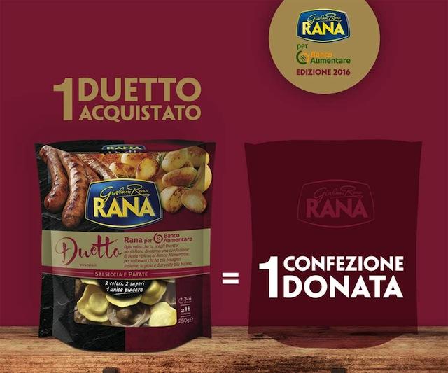 Giovanni Rana e Banco Alimentare: insieme contro la povertà