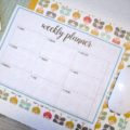 AGENDA SETTIMANALE STAMPABILE | Weekly Planner Printable