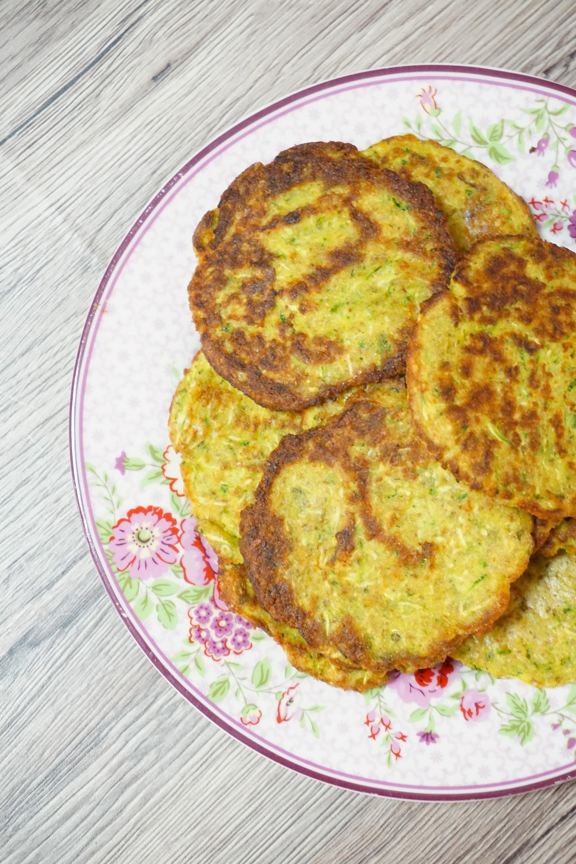 PANCAKES DI ZUCCHINE | frittelle velocissime, gustose e senza burro
