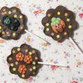 HALLOWEEN CHOCOLATE LOLLIPOPS | Lecca Lecca di Cioccolato