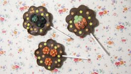 HALLOWEEN CHOCOLATE LOLLIPOPS | Lecca Lecca di Cioccolato