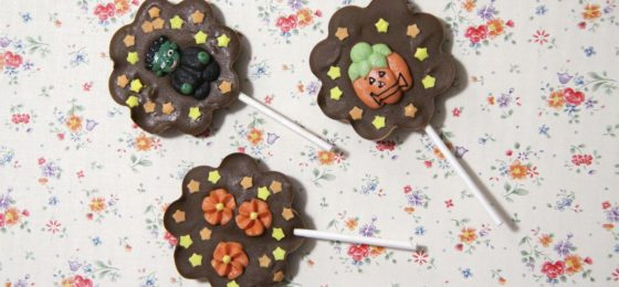 HALLOWEEN CHOCOLATE LOLLIPOPS | Lecca Lecca di Cioccolato super facili