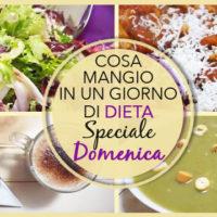COSA MANGIO IN UN GIORNO DI DIETA | Speciale DOMENICA #6