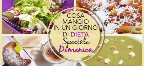 COSA MANGIO IN UN GIORNO DI DIETA   Speciale DOMENICA #6