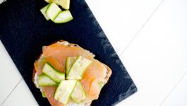 AVOCADO TOAST CON SALMONE in 5 minuti | ricetta LIGHT GUSTOSA