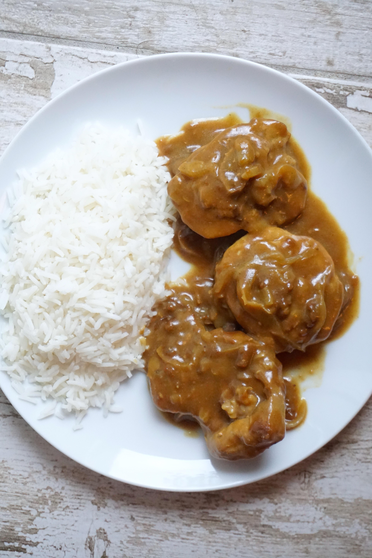 OSSOBUCO AL CURRY E YOGURT con riso basmati | ricetta orientale