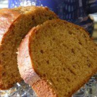 Plumcake integrale miele e cannella