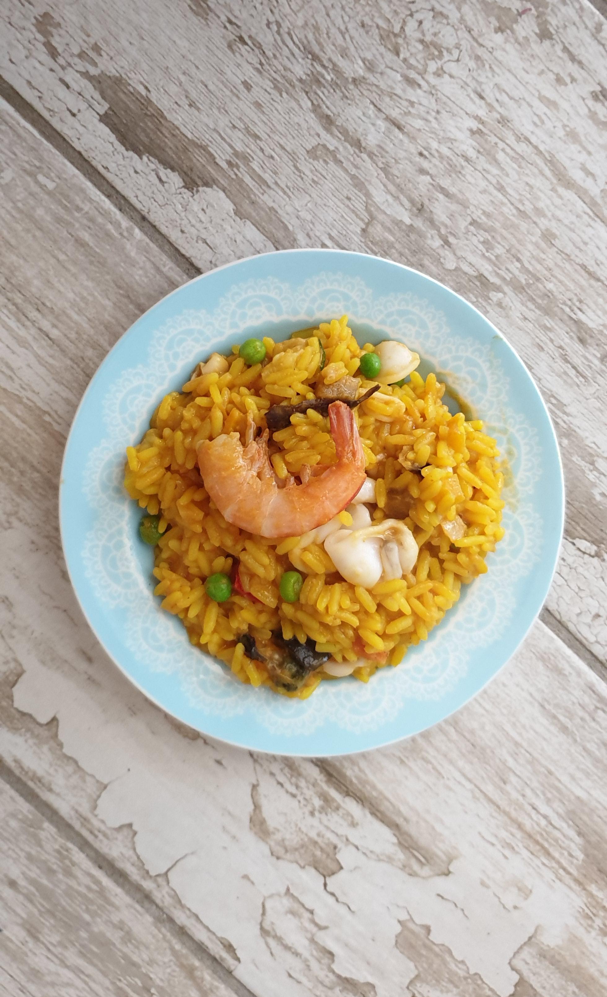 PAELLA VALENCIANA, ricetta tradizionale spagnola